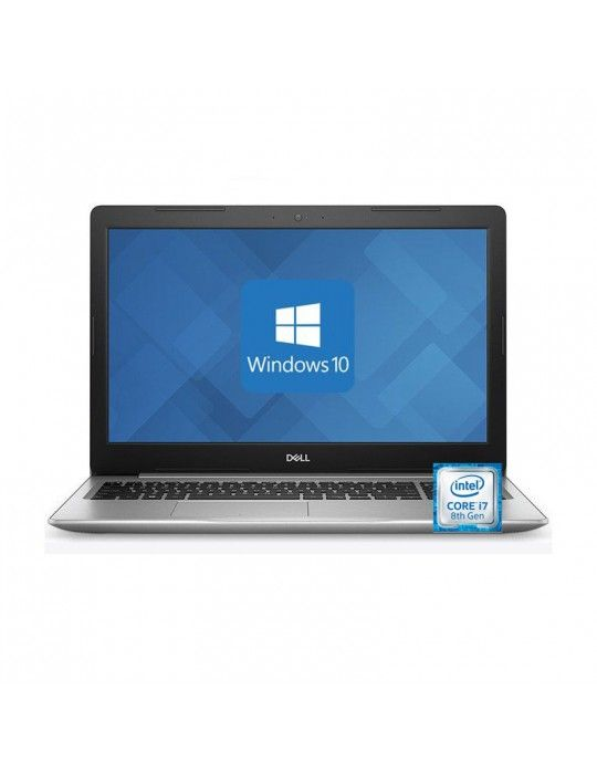 Laptop - Dell Inspiron 5583 Intel Core i7-8565U-16GB RAM DDR4-2TB HDD 256 SSD-DVD-MX130 4GB-Silver