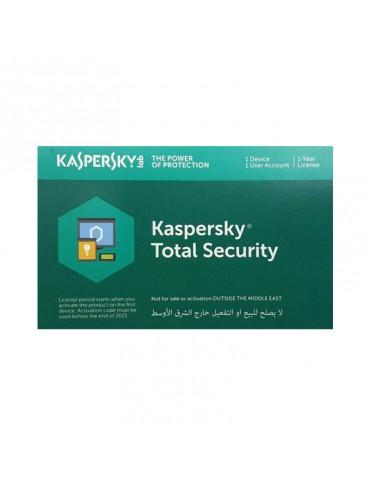 KasperSky Total Security 1 user-License only