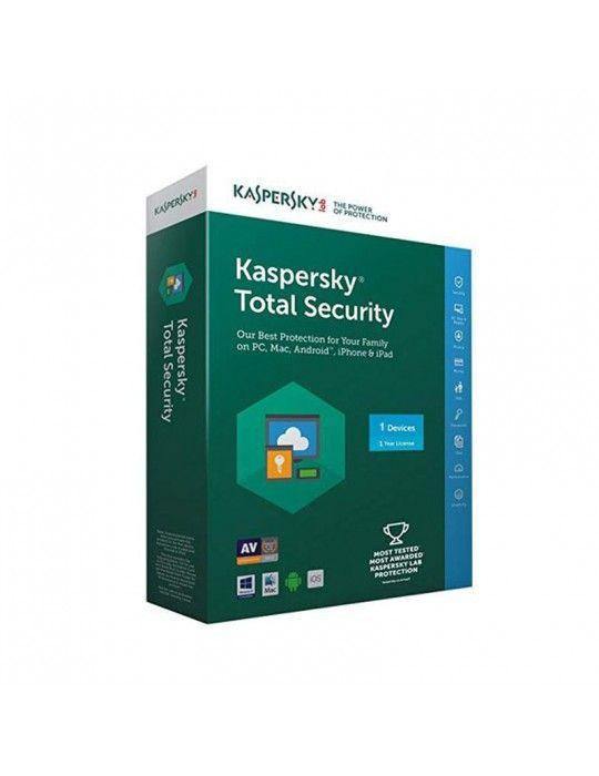 Software - KasperSky Total Security 1 user-License only
