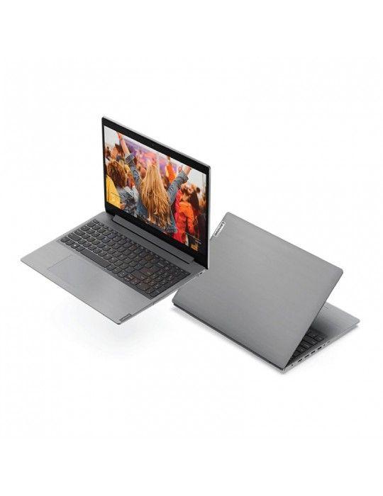 Laptop - Lenovo IdeaPad L3 Core i5-10210U-8GB-1TB-MX130-2GB-15.6 FHD-DOS-Platinum Grey
