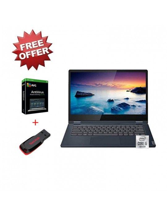 Laptop - Lenovo Ideapad C340 i5-10210U-8GB-SSD 512GB-MX230-2GB-14 FHD Touch-Win10-ABYSS Blue