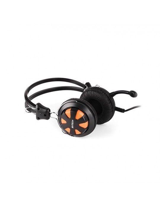 سماعات اذن - Headset A4Tech HS-28 Orange 3