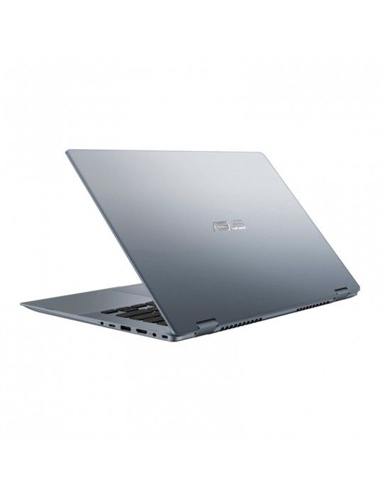Laptop - ASUS VivoBook Flip-i3-10110U-TP412FA-EC403T-4GB-SSD 256GB- Intel Shared-14 FHD Touch-Win10-Silver Blue-Stylus pen free
