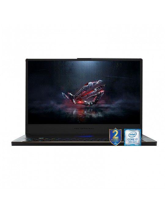 Laptop - ASUS ROG Zephyrus S GX701GWR-HG107T i7-9750H-16GB-SSD 1TB-RTX2070Q-8GB-17.3 FHD-Win10-Bag+Headset+Mouse+Cam free bund