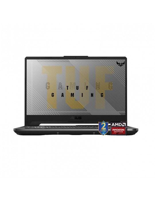 كمبيوتر محمول - ASUS TUF A15 FA506IU-AL019T AMD R7-4800H-16GB-SSD 1TB-GTX1660Ti-6GB-15.6 FHD-Win10