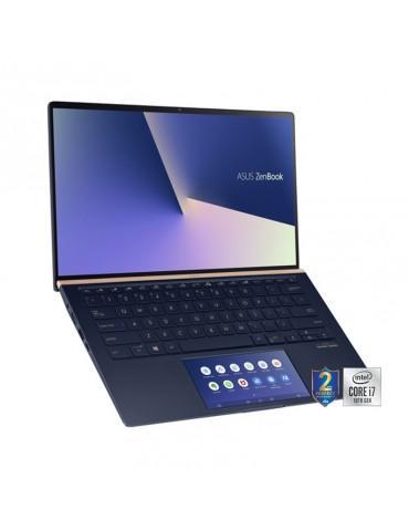 ASUS ZenBook UX434FLC-A5370T i7-10510U-16GB-SSD 1TB-MX250-2GB-14 FHD -Win10-Silver-Sleeve
