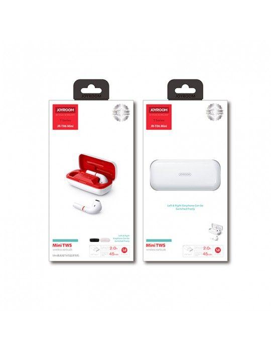 سماعات اذن - Earbuds Bluetooth JOYROOM JR-T06 Mini