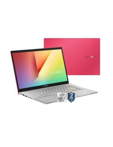 ASUS VivoBook-S14 S433FL-EB080T I7-10510U-8GB-SSD 512GB-Nvidia MX250-2GB-14 FHD-Win10-Red