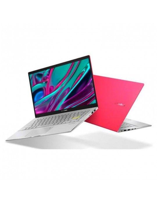 Laptop - ASUS VivoBook-S14 S433FL-EB080T I7-10510U-8GB-SSD 512GB-Nvidia MX250-2GB-14 FHD-Win10-Red