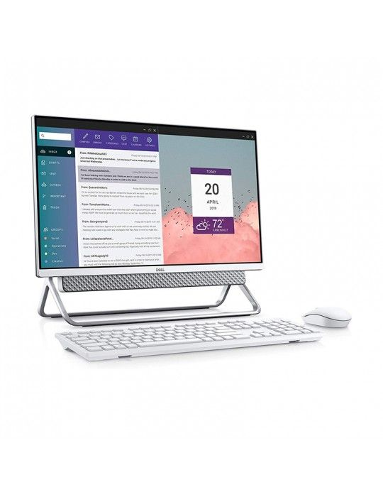 كمبيوتر محمول - Dell All-in-one Inspiron 5490 i5-10210U-8GB-MX110-2GB-1TB-SSD 256GB-23.8 FHD-Win10