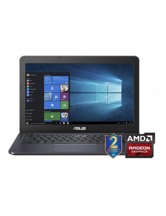 كمبيوتر محمول - ASUS E2-7015-4GB DDR3L-1TB 54R-AMD R2 up to 2GB-14-HD-Dark Blue
