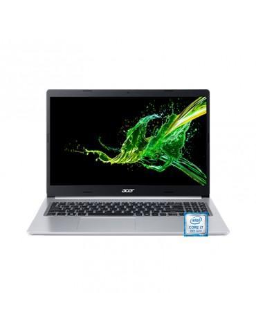 """Acer Aspire A515-54G-71SW-Core™ i7-8565U-8GB DDR4-2TB HDD-NVIDIA® GeForce MX250 2GB-15.6""""FHD-Silver"""