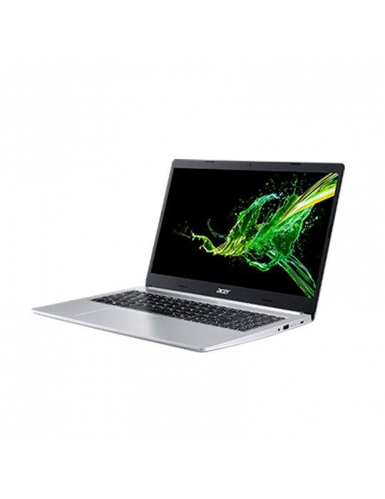 """كمبيوتر محمول - Acer Aspire A515-54G-71SW-Core™ i7-8565U-8GB DDR4-2TB HDD-NVIDIA® GeForce MX250 2GB-15.6""""FHD-Silver"""