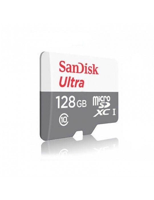 كروت ذاكرة - Ultra SD card Sandisk 128GB Class 10