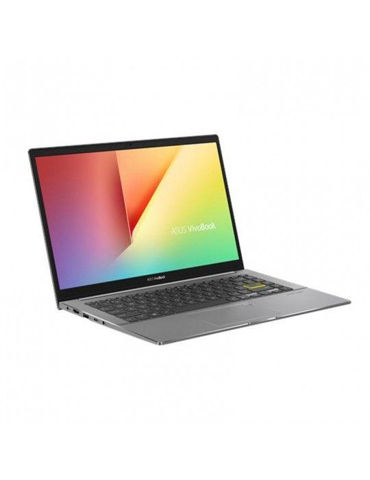 كمبيوتر محمول - ASUS VivoBook S14 M433IA-EB022T AMD R5-4500U-8GB-SSD 512GB-AMD Radeon Graphics-14 FHD-Win10-Black