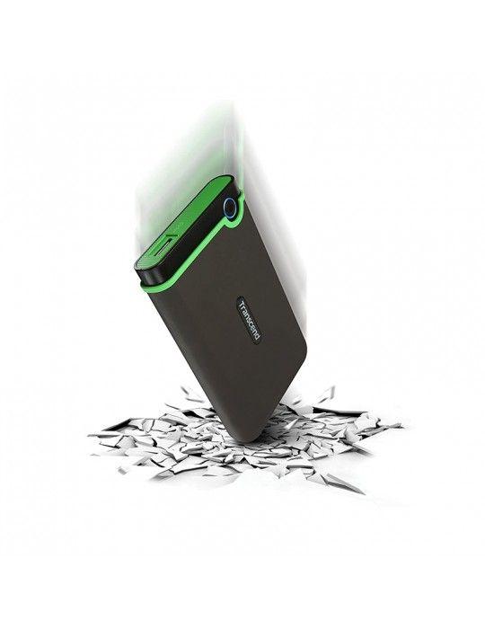 Hard Drive - External HDD Transcend 1TB-USB3-SLIM Iron Gray