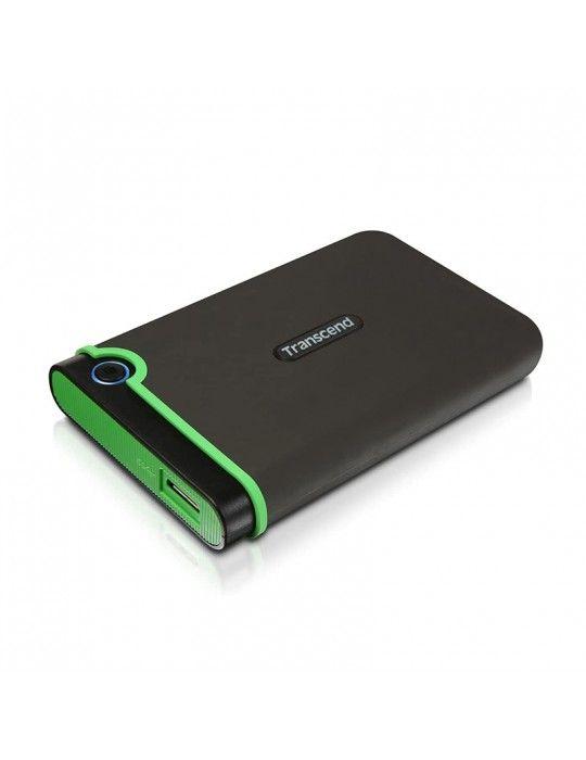 Hard Drive - External HDD Transcend 2TB-USB3-SLIM Iron Gray