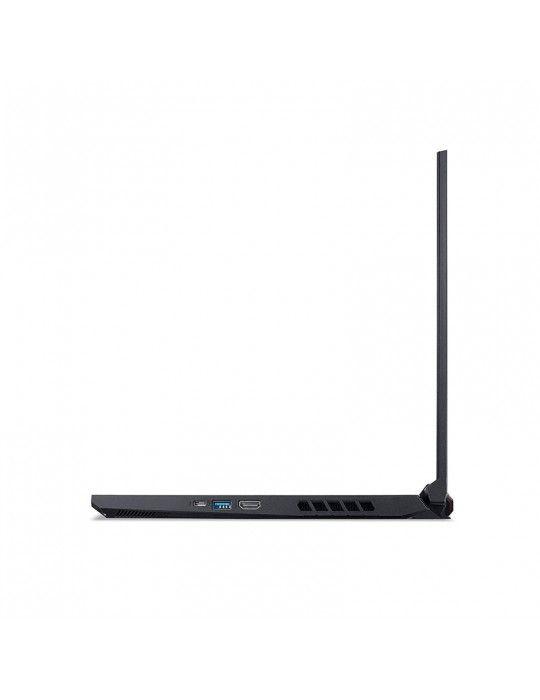 كمبيوتر محمول - Acer Nitro 5 AN515-55 i7-10750H-24GB-SSD 1TB-GTX 1650-4GB-15.6FHD IPS-DOS-Black
