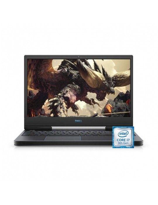 Laptop - Dell Inspiron G5-N 5590 i7-9750H-16GB-1TB-SSD 256GB-RTX2060-6GB-15.6 FHD-win10-Black