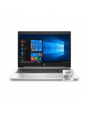 HP ProBook 450-G7 i7-10510U-8GB-1TB-MX250-2GB-FPR-15.6 HD-Dos-Silver