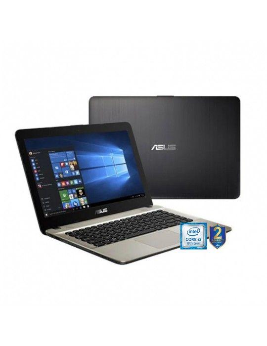 كمبيوتر محمول - ASUS Laptop X441UA-GA604T i3-8130U-4GB-1TB-Intel Graphics-14.0 HD-Win10-Black