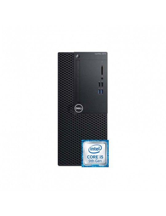 كمبيوتر مكتبى - Dell Optiplex 3070 i5-9500-4GB-1TB-Intel Graphics-Dos