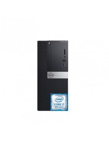 Dell Optiplex 7060 Intel Core i7-8700-4GB RAM DDR4-1TB HDD-VGA Intel Graphics-DOS-3 Years warranty