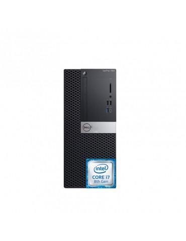 Dell Optiplex 7060 Intel Core i7-8700-4GB RAM DDR4-1TB HDD-VGA Intel Graphics-DOS-3Years warranty
