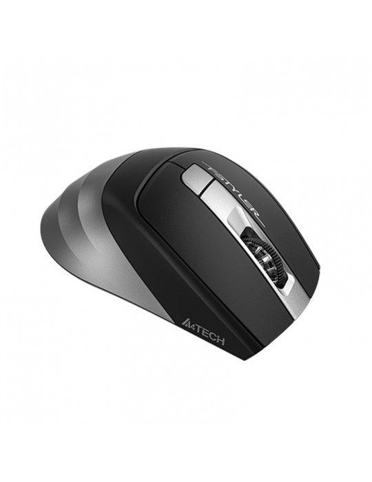ماوس - A4Tech FB35S-Smoky Grey-Bluetooth & 2.4G Mouse