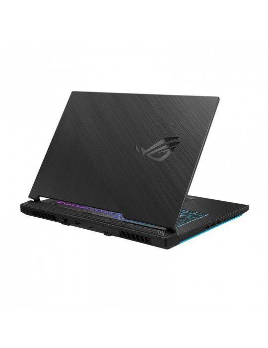 Laptop - ASUS ROG Strix G512LWS-AZ044T i7-10750H-16GB-1TB PCIe-15.6-RTX 2070-Win10-Black