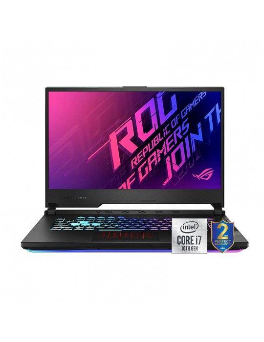 Laptop - ASUS ROG Strix G512LU-HN161T i7-10750H-16GB-SSD 1TB-GTX1660Ti-6GB-15.6 FHD 144 Hz-Win10-Black