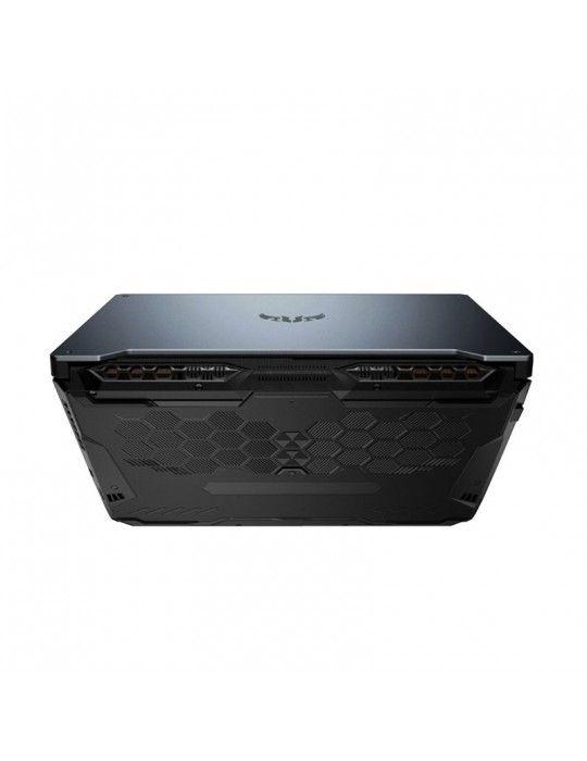 كمبيوتر محمول - ASUS TUF FA506II-BQ097T-AMD R7-4800H-16GB-512G PCIE SSD-GTX1650Ti-4GB-Win10-GRAY METAL