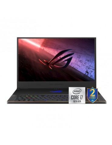 Asus ROG Zephyrus GX701LXS-HG039T i7-10875H-32GB-SSD 1TB-RTX2080S Max-Q-8GB-17.3 FHD-Win10-Metal Black