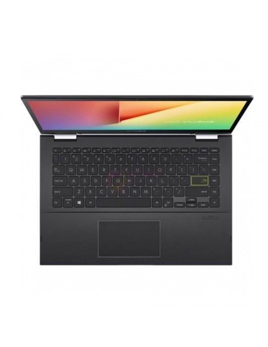Laptop - ASUS VivoBook Flip TM420IA-EC056T AMD R3-4300U-4GB-SSD 256GB-AMD Radeon Graphics-14 FHD Touch-Win10-Black-Stylus pen f