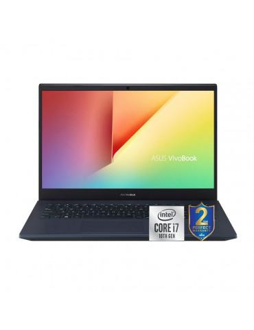 ASUS Vivobook X571LH-BQ180T i7-10750H-16GB-1TB+256GB SSD-GTX1650-4GB-15.6 FHD-Win10-Black