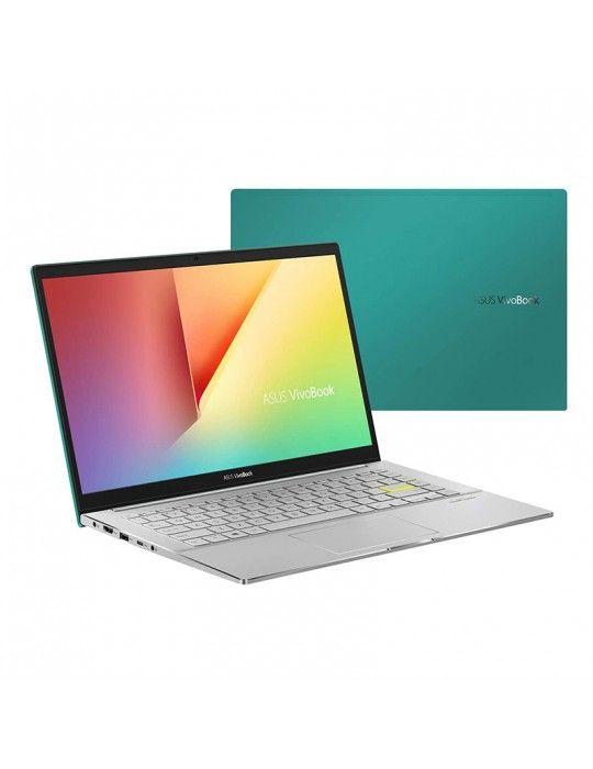 Laptop - ASUS VivoBook S14 S433FL-EB220T I7-10510U-8GB-SSD 512GB-Nvidia MX250-2GB-14 FHD-Win10-Green