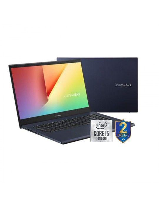 Laptop - ASUS Vivobook X571LH-BQ193T i5-10300H-8GB-1TB+256GB SSD-GTX1650-4GB-15.6 FHD-Win10-Black