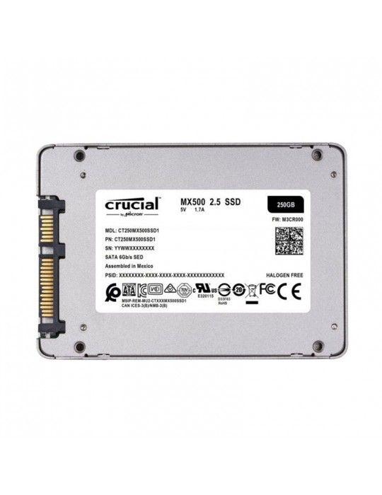 هارد ديسك - SSD Crucial 250GB 2.5 MX500