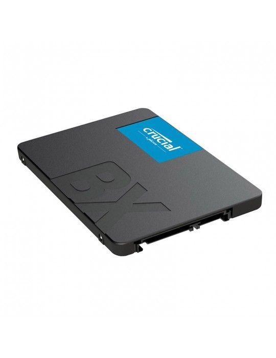 SSD - SSD Crucial 480GB 2.5 BX500