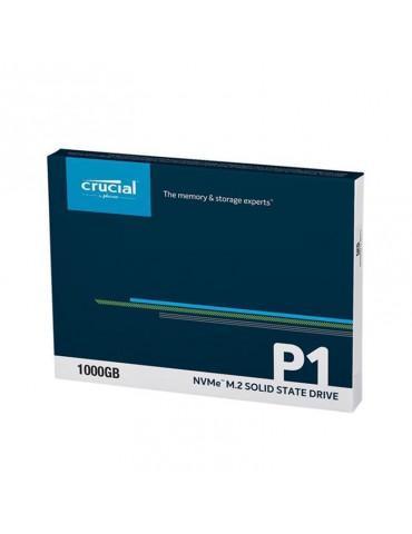 SSD Crucial 1TB M.2 P1 NVMe