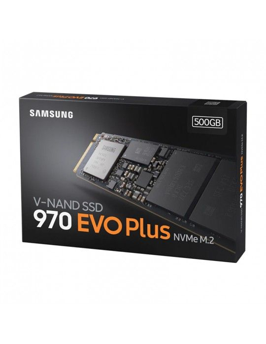 Hard Drive - SSD Samsung EVO Plus 970 500GB M.2 NVMe
