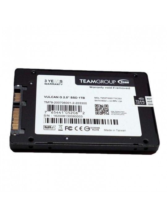 هارد ديسك - SSD TEAM 1TB T.Force Vulcan Gaming 2.5