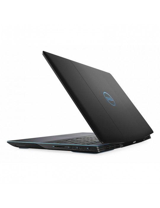 كمبيوتر محمول - Dell Inspiron G3-3500 i7-10750H-8GB-SSD512 GB-GTX1650 4G-15.6 FHD-Black