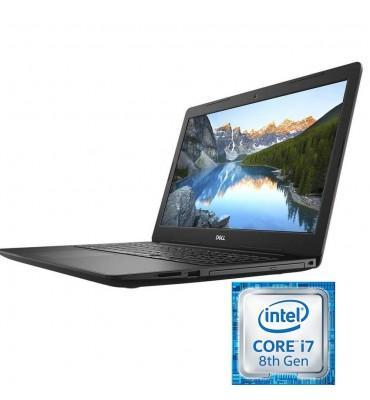 """Dell Inspiron 3580-15.6""""-Intel Core i7-8565U-8GB RAM DDR4-1TB HDD-VGA AMD R520 2GB Dedicated-DOS-Black"""