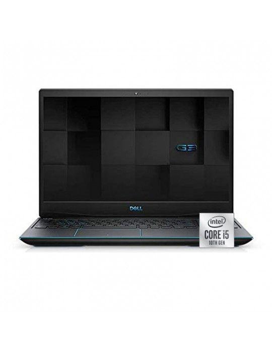 كمبيوتر محمول - Dell Inspiron G3-3500 i5-10300H-8GB-1TB-SSD256-GTX1650 4G-15.6 FHD-Black