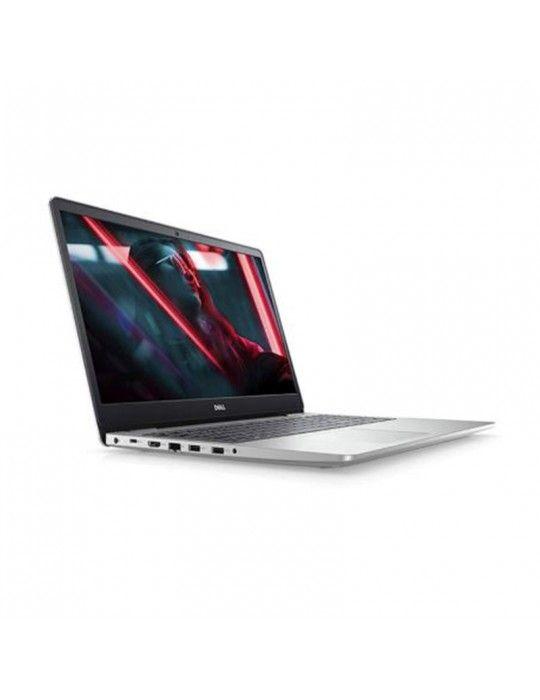 كمبيوتر محمول - Dell Inspiron 5593 i7-1065G7-8GB-SSD512-MX230-4G-15.6 FHD-DOS-Silver