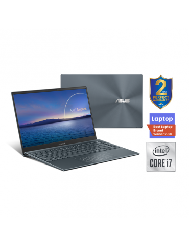 ASUS Zenbook UX425JA-BM036T 14-I7-1065G7-16G-1TB PCIE G3-Intel Shared - Win10-14.0 FHD Pine Grey