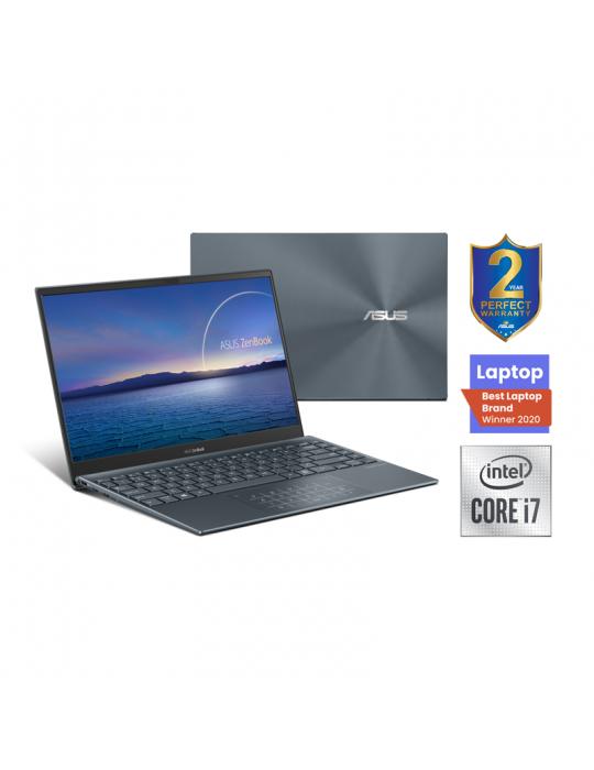 Laptop - ASUS Zenbook UX425JA-BM036T 14-I7-1065G7-16G-1TB PCIE G3-Intel Shared - Win10-14.0 FHD Pine Grey