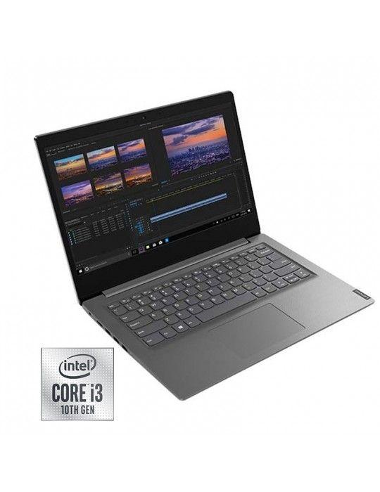 كمبيوتر محمول - Lenovo V14-Intel Core i3-1005G1-1TB-4 GB RAM-Integrated Graphics-Dos-14 Inch FHD-Iron Grey