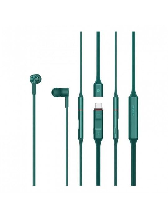 Home - Headphones Huawei Freelace CM70-L with Built-in Microphone-Emerald Green